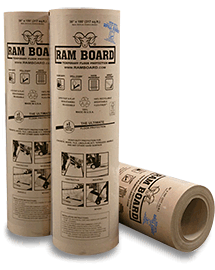 Ram Board floor and wall protection