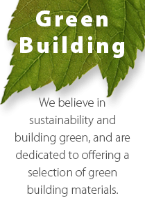 We believe in Green Building