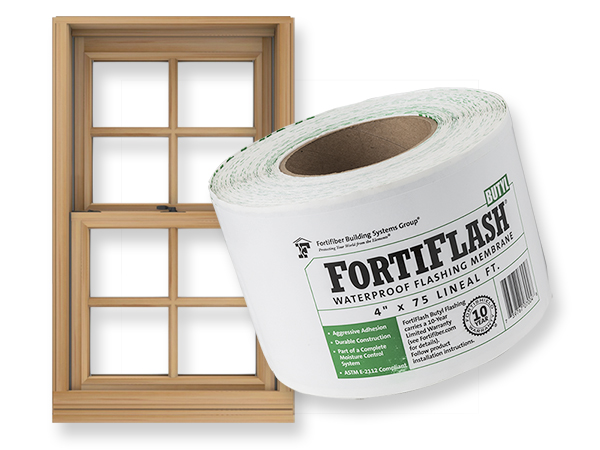 FortiFlash Butyl Waterproof Flashing Membrane